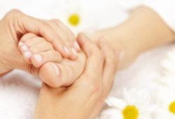 массаж при вальгусной деформации ног