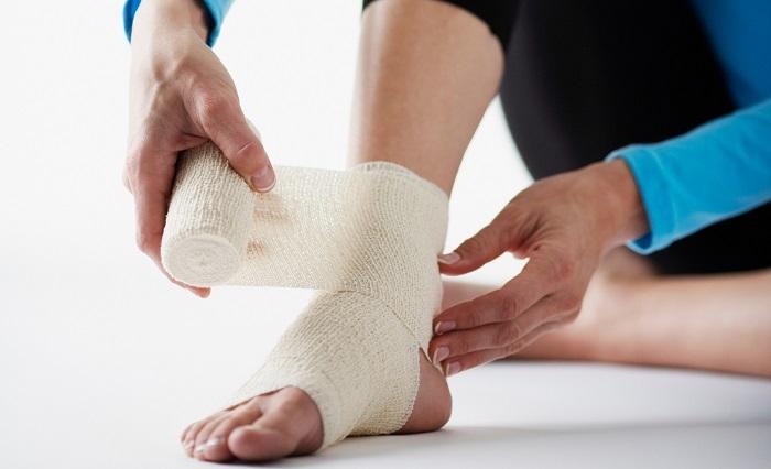 компрессы от шишки на ноге